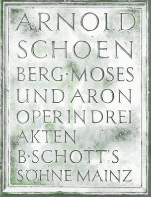 Moses Und Aron - Arnold Schoenberg - Partition - laflutedepan.com