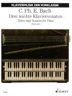 Carl-Philipp Emanuel Bach - 3 Leichte Kaviersonaten - Partition - di-arezzo.fr