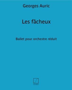 Les Fâcheux Georges Auric Partition Piano - laflutedepan