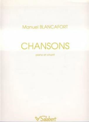 Manuel Blancafort - Chansons - Partition - di-arezzo.fr