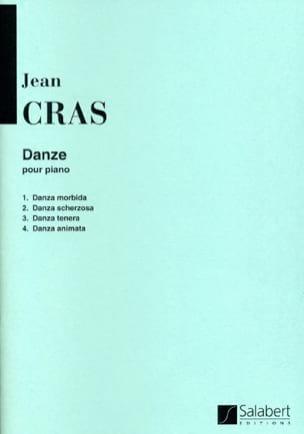 Jean Cras - Danze - Partition - di-arezzo.fr