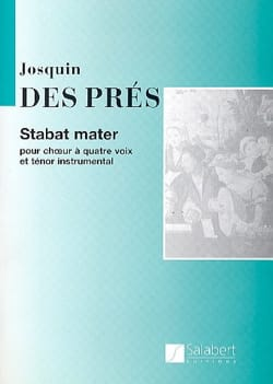 Stabat Mater Josquin Després Partition Chœur - laflutedepan