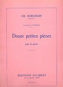 Charles Koechlin - 12 Petites Pièces Op. 41 Bis N°2 - Partition - di-arezzo.fr