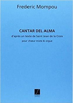 Cantar del Alma Federico Mompou Partition Mélodies - laflutedepan