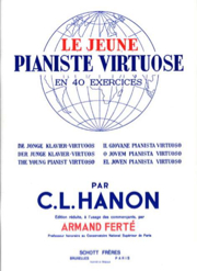 HANON - Le Jeune Pianiste Virtuose - Partition - di-arezzo.fr