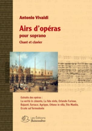 VIVALDI - Opera tunes for soprano - Partition - di-arezzo.co.uk