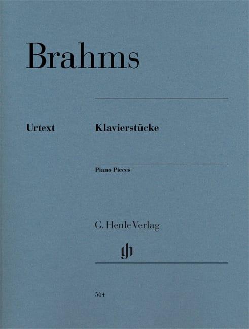 Klavierstücke - BRAHMS - Partition - Piano - laflutedepan.com