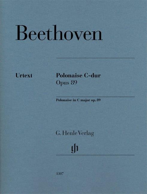 Polonaise en Do majeur op. 89 - BEETHOVEN - laflutedepan.com