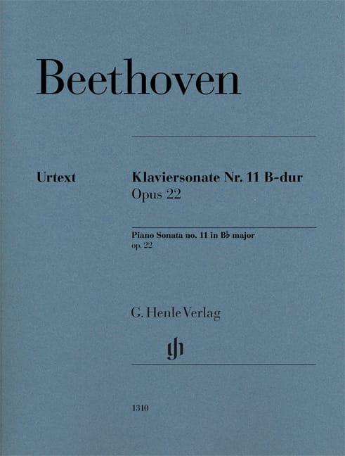Sonate Pour Piano n° 11 en Si bémol Majeur Op. 22 - laflutedepan.com