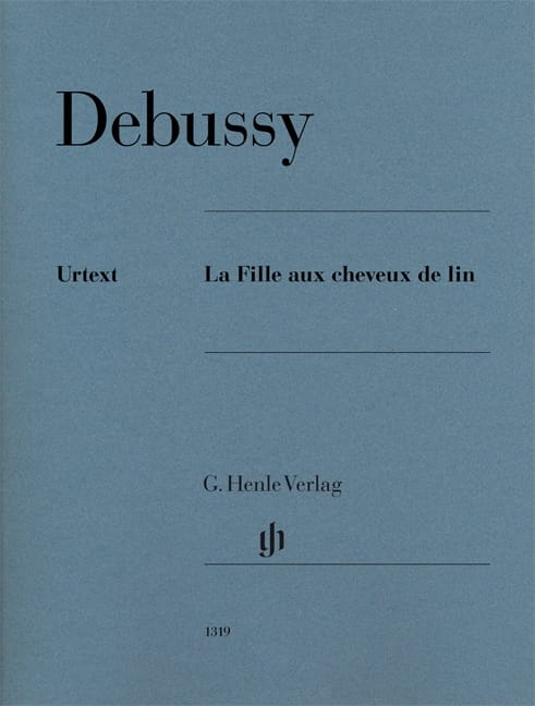 DEBUSSY - The girl with linen hair - Partition - di-arezzo.co.uk