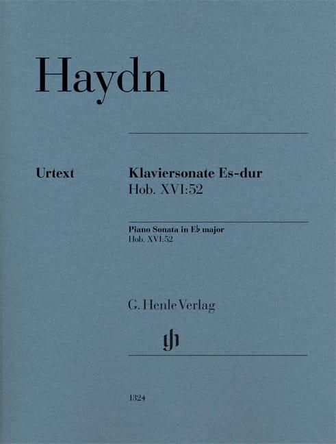 Sonate pour piano en Mi bémol majeur Hob 16-52 - laflutedepan.com