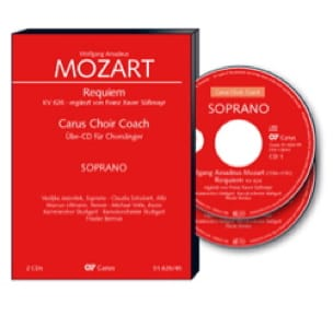 Requiem K 626. 2 CD Alto - MOZART - Partition - laflutedepan.com