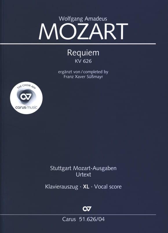 Requiem Kv 626 XL Format - MOZART - Partition - laflutedepan.com