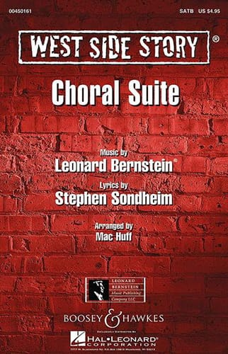 Leonard Bernstein - West Side Story SATB Choral Suite - Partition - di-arezzo.co.uk