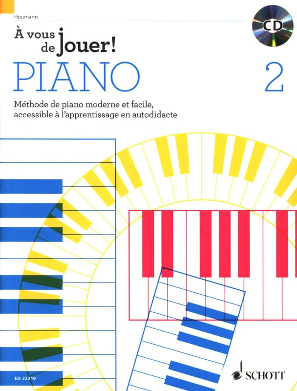 Hans-Günter HEUMANN - It's up to you to play PIANO! - Volume 2 - Partition - di-arezzo.com