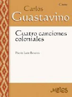 4 Canciones Coloniales - Carlos Guastavino - laflutedepan.com