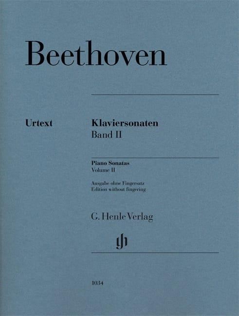 Sonates pour piano Volume 2 - BEETHOVEN - Partition - laflutedepan.com