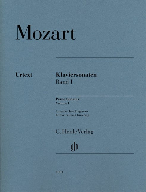 Sonates pour piano Volume 1 - MOZART - Partition - laflutedepan.com
