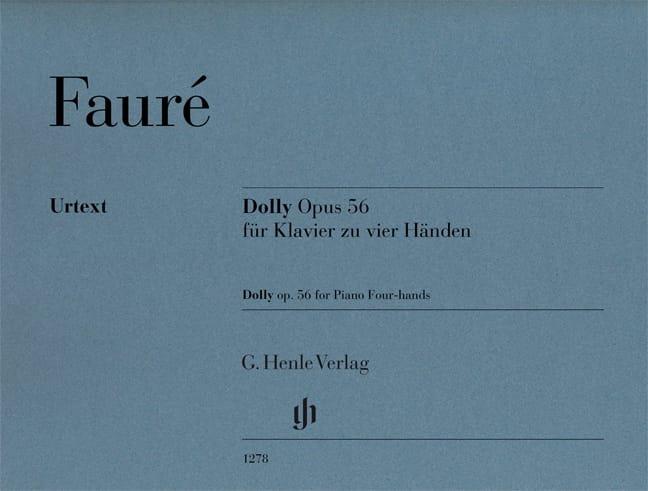 Gabriel Fauré - Dolly Opus 56. 4 manos - Partition - di-arezzo.es