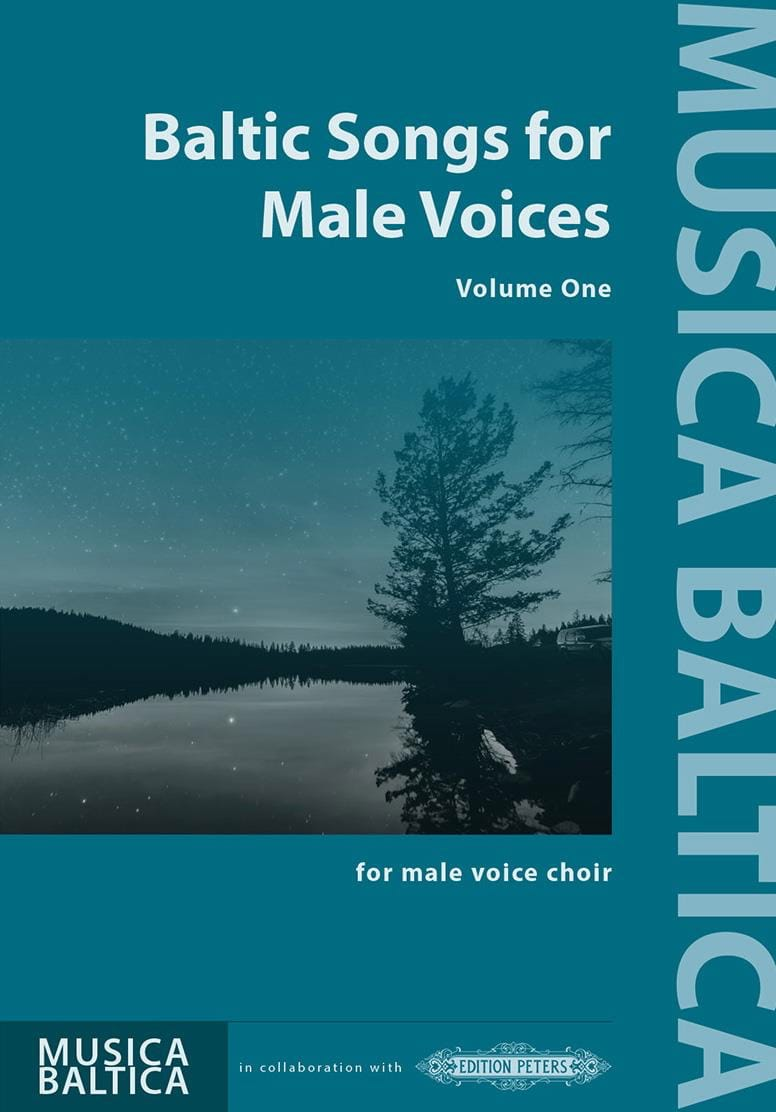 Baltic Songs for Males Voices. Volume 1 - laflutedepan.com