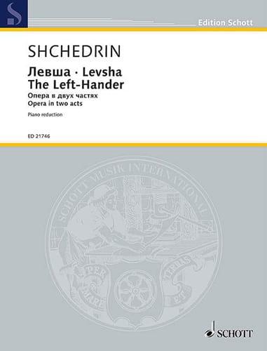 Rodion Chedrin - Levsha The Left-Hander - Partition - di-arezzo.co.uk
