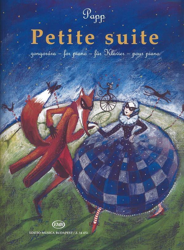 Petite suite - Lajos Papp - Partition - Piano - laflutedepan.com
