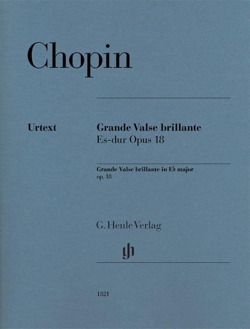 Grande Valse brillante en Mi bémol majeur opus 18 - laflutedepan.com
