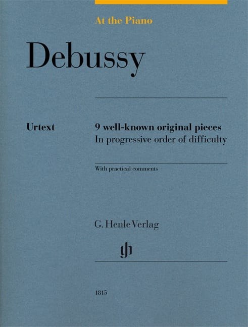 Debussy, At The Piano - Edition Urtext - DEBUSSY - laflutedepan.com