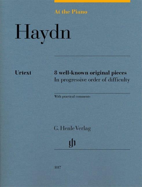 Haydn, At The Piano - HAYDN - Partition - Piano - laflutedepan.com