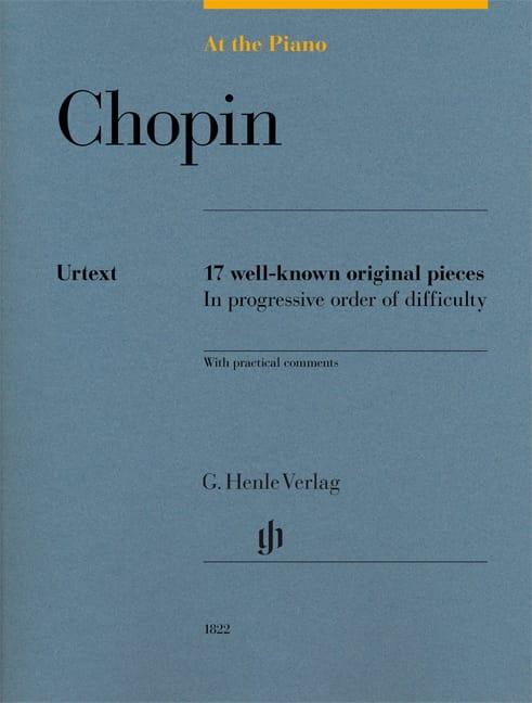 Chopin, At The Piano - CHOPIN - Partition - Piano - laflutedepan.com