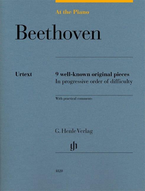 Beethoven, At The Piano - BEETHOVEN - Partition - laflutedepan.com