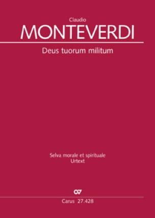 Deus tuorum militum SV 280 - MONTEVERDI - Partition - laflutedepan.com