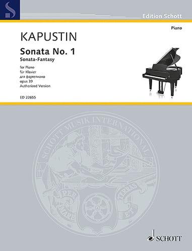 Sonate pour Piano n° 1 Opus 39 - Nikolai Kapustin - laflutedepan.com