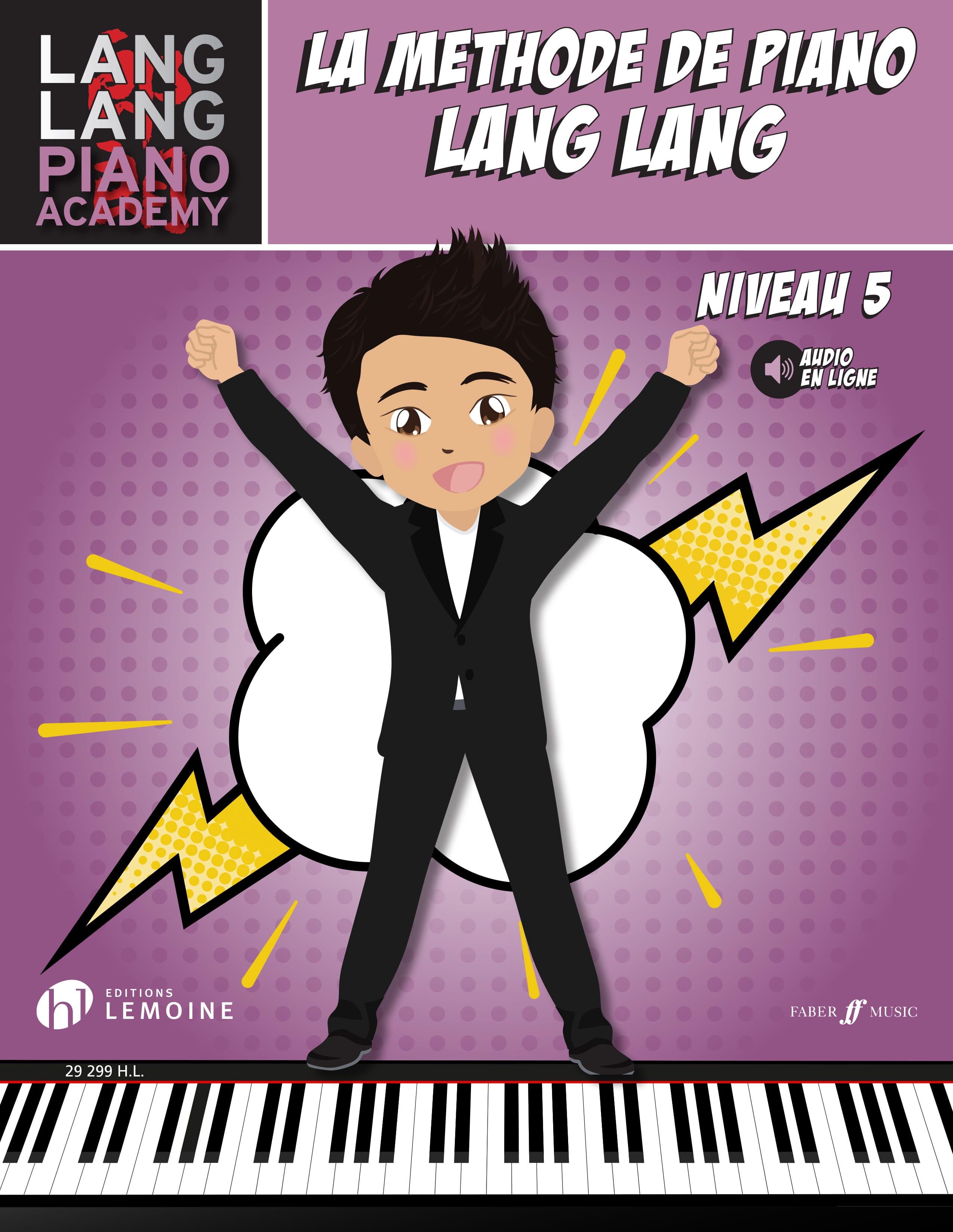 Lang LANG - The Piano Method LANG LANG - Level 5 - Partition - di-arezzo.co.uk