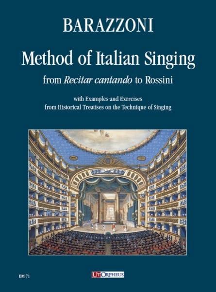 Method of Italian Singing - Maurizia Barazzoni - laflutedepan.com