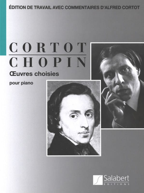Oeuvres choisies pour piano - CHOPIN - Partition - laflutedepan.com