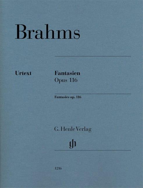 Fantaisies op.116 - BRAHMS - Partition - Piano - laflutedepan.com