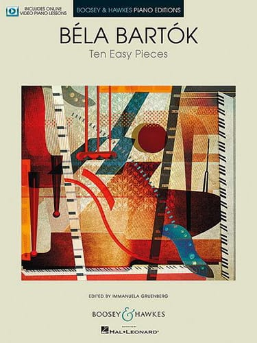 10 Easy Pieces Sz. 39 - BARTOK - Partition - Piano - laflutedepan.com