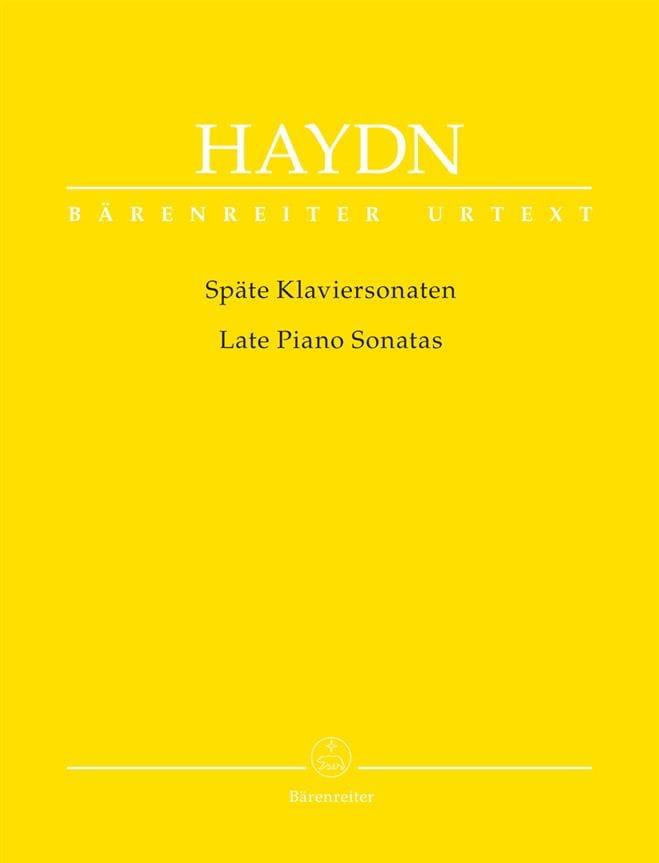 Späte Klaviersonaten - HAYDN - Partition - Piano - laflutedepan.com