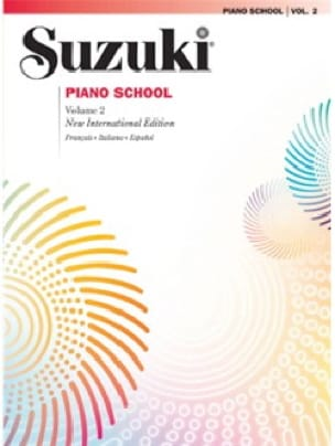 Suzuki - Suzuki Piano School Volume 2 English - Partition - di-arezzo.co.uk
