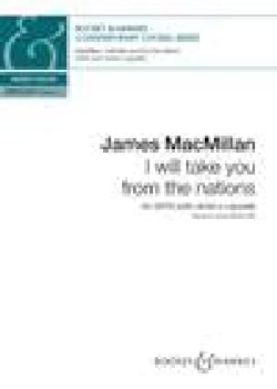 I will take you from the nations - James MacMillan - laflutedepan.com