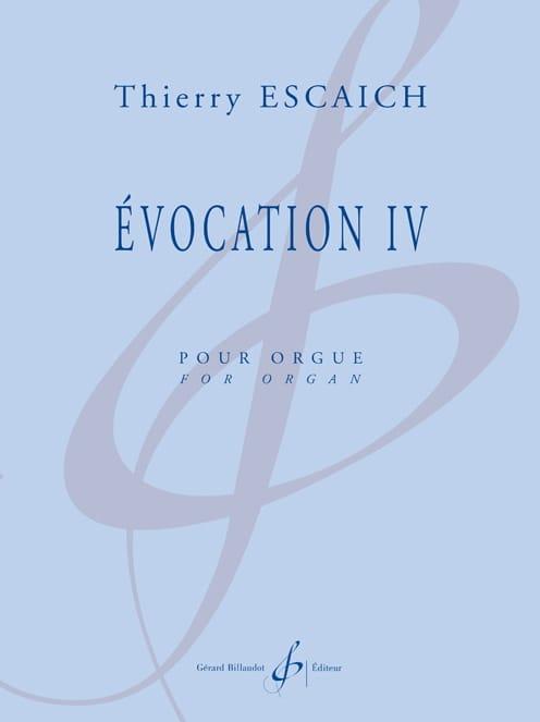 Evocation 4 - Thierry Escaich - Partition - Orgue - laflutedepan.com