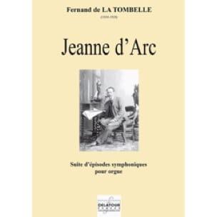 Jeanne d'Arc - Fernand de la Tombelle - Partition - laflutedepan.com