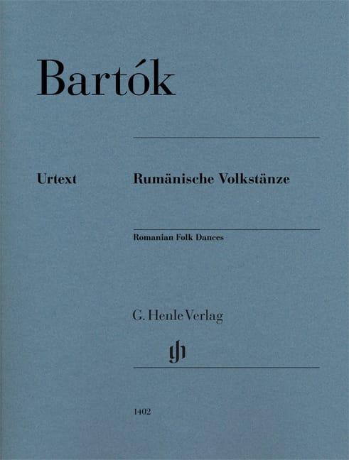 6 Danses Populaires Roumaines - BARTOK - Partition - laflutedepan.com