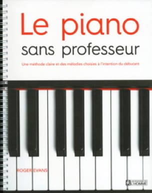 Roger Evans - The Piano without a teacher - Partition - di-arezzo.co.uk