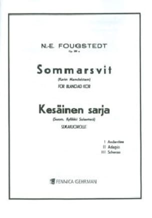 Sommarsvit Opus 23a - Nils-Eric Fougstedt - laflutedepan.com