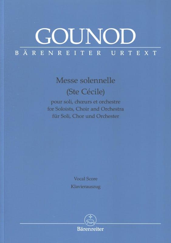 Messe Solennelle Sainte Cécile - Charles Gounod - laflutedepan.com
