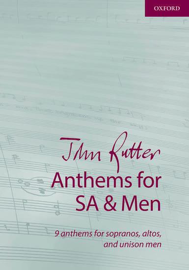 Anthems - RUTTER - Partition - Chœur - laflutedepan.com