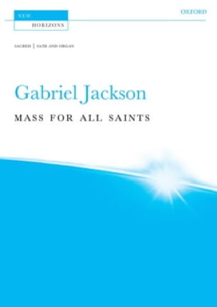 Mass for all Saints - Gabriel Jackson - Partition - laflutedepan.com