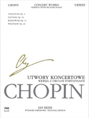CHOPIN - Works for Piano and Orchestra. 2 pianos - Partition - di-arezzo.co.uk